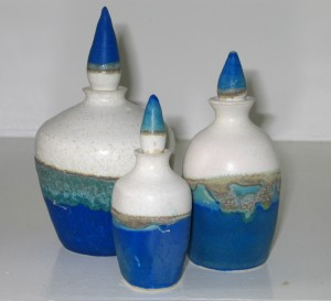 Bottles - stoneware